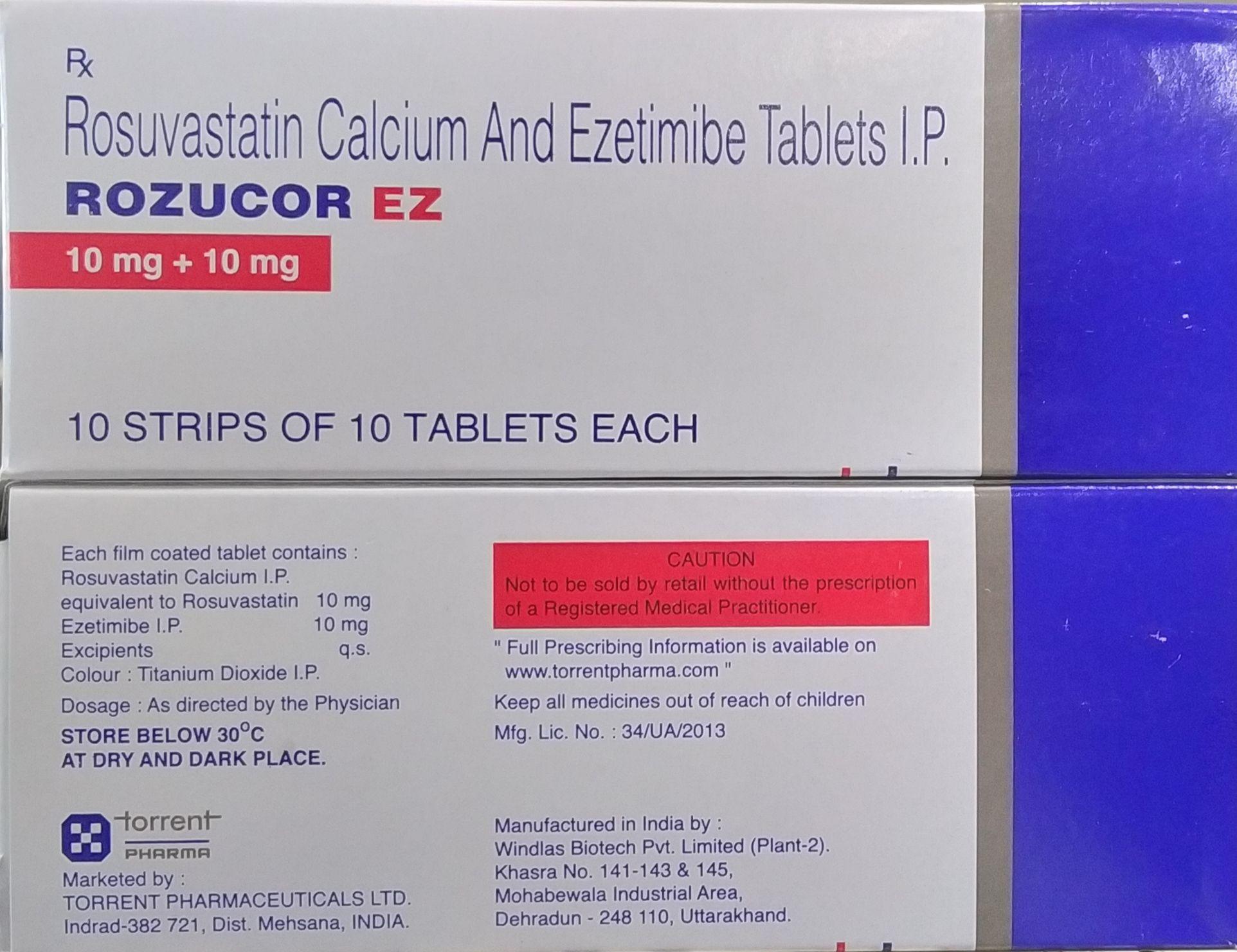 Rozucor 10 mg jogo